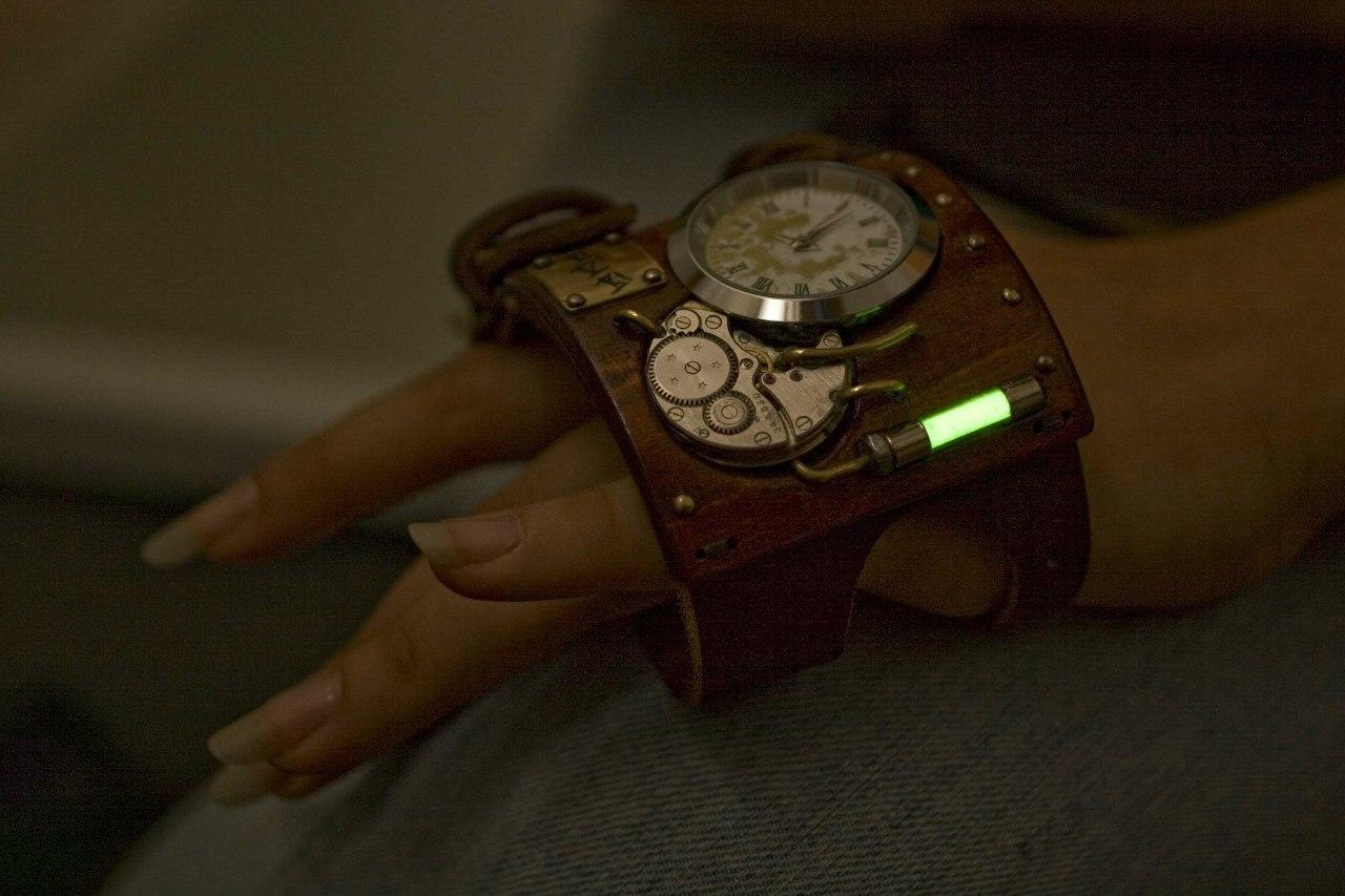 Часы стимпанк краснодар